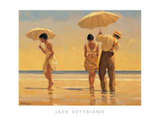 Mad Dogs Print by Jack Vettriano