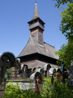 Lemn Din Deal Wooden Church, UNESCO World Heritage Site, Ieud, Maramures, Romania, Europe Photographic Print by Marco Cristofori