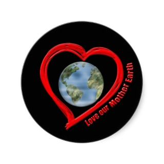 Love Our Mother Earth Sticker