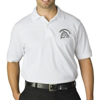 shirt features a back logo with arching CHIROPRACTIC text above