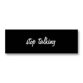 Gossip Stop Silence Spell Pillar