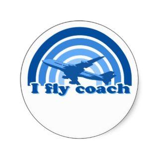 fly coach sticker