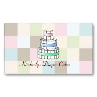 Diaper Cake Business Cards