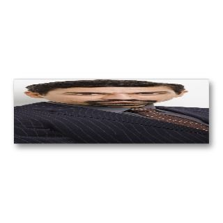 Actor Actress Skinny Business Card Template