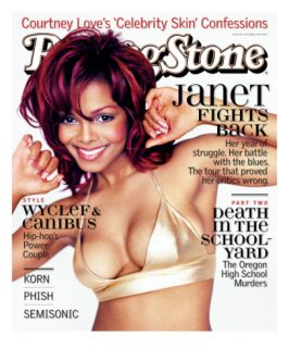 Janet Jackson, Rolling Stone no. 796, October 1998 Wall Decal