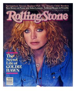 Goldie Hawn, Rolling Stone no. 338, March 1981 Wall Decal