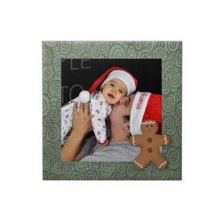Gingerbread Man Holiday Photo Tile