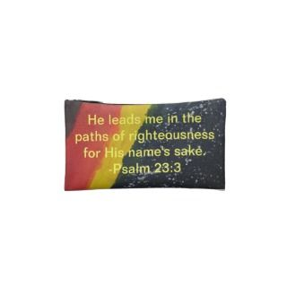 Original Painting Bible Verse Cosmetic Bag