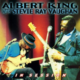 Albert King with Stevie Ray Vaughan   In Session Wall Decal