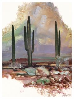Desert Haze Print by Adin Shade