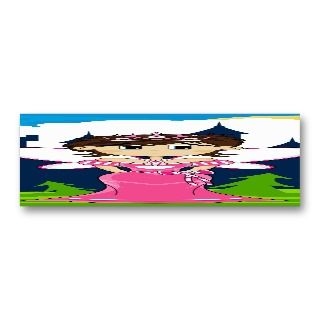 & Enchanted Castle Bookmark Business Card Template