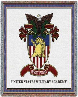 West Point, Crest Throw Blanket