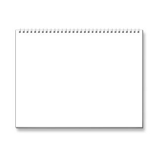 blank calendar template. Add your own pictures and date reminders