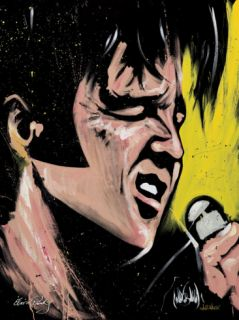 Elvis Presley   68 Special Limited Edition on Canvas