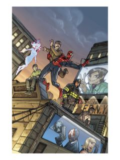 Amazing Fantasy #15 Cover: Spider Man Print by Pete Woods