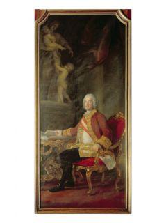 Francis I Holy Roman Emperor (1708 65) Husband of Empress Maria Theresa Austria (1717 80) Giclee Print by Pompeo Girolamo Batoni