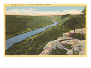 Grand Canyon of Tennessee, Chattanooga, Tennessee Premium Poster