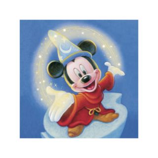 Sorcerer Mickey Fantasia Magic (detail) Giclee Print