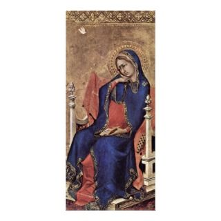 Mary Of The Annunciation By Martini Simone Rack Cards