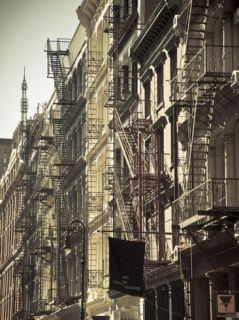 Cast Iron Architecture, Greene Street, Soho, Manhattan, New York City, USA Photographic Print by Jon Arnold