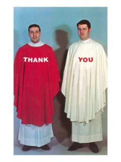 Thank You, Large Altar Boys Premium Poster