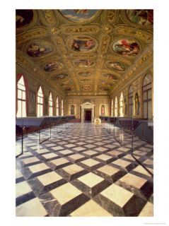 The Sala Dorata, Built 1537 88 Giclee Print by Jacopo Sansovino