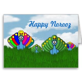 Greeting Cards, Note Cards and Happy Norooz Greeting Card Templates