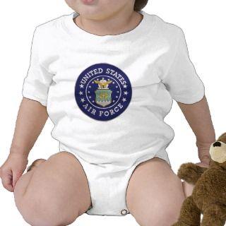 United States Air Force Emblem Shirt