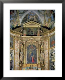 The High Altarpiece in the Chapel of St. Joseph, St. Joseph and the Christ Child, c.1597 99 Pre made Frame