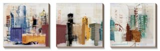 Urban Design Canvas Art Set by Noah Li Leger