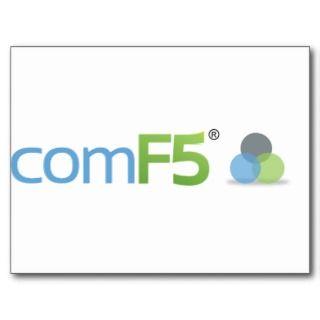 comF5 «Logo Standard Postcard