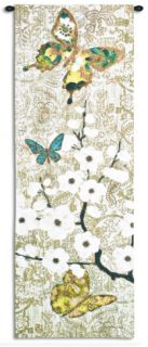 Spring Unfolding Wall Tapestry by Morgan Yamada