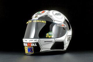Replica Mini Helmet Valentino Rossi MotoGP 2008 Barcelona 12