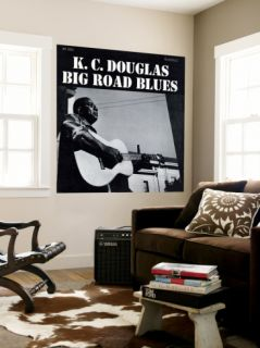K.C. Douglas   Big Road Blues Wall Mural