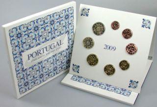 Kursmünzensatz (orig., nom. 3,88 Euro) 2009 vz st Blister und Schuber