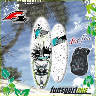 VIBE 84 L FREESTYLE WAVE WINDSURF BOARD 2011 SURFBOARD GRATIS RUCKSACK