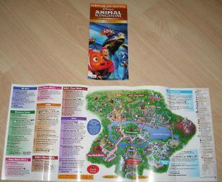 Parkplan Walt Disney World Orlando  Animal Kingdom 2011