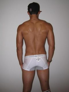 White Unico boxer briefs underwear S small muscle jock