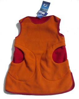 FINKID ° AINO ° Fleece Tunika Weste Kleid ° Gr.110/120 ° NEU