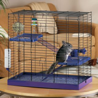 Small Pet Cages, Habitats & Hutches All Living Things� Deluxe Chinchilla Kit
