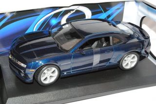 Chevrolet Chevy Camaro SS RS Coupe Blau Ab 2009 1 18 Maisto Modell