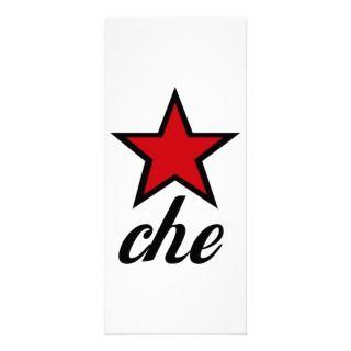 Red Star Che Guevara! Rack Card