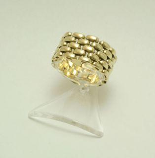 Ring 585 14 kt. Gold Gelbgold Kettenring extravagant