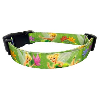 Platinum Pets Disney Tinker Bell Nylon Collar   Collars   Collars, Harnesses & Leashes