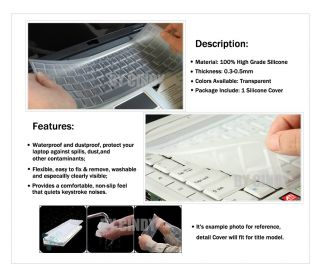 Keyboard Skin Cover Protector  ACER 5830TG,5830T, Aspire Ethos 5951G