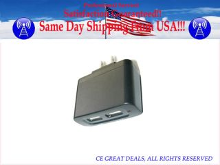 Dual USB Ports Car Auto Home AC Adapter For Sony SGPAC5V4 Xperia