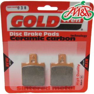 Laverda Alpino S 500 1978 Rear Sintered Disc Brake Pads