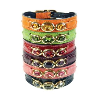 Hartman & Rose Regency Collection Dog Collar   Collars   Collars, Harnesses & Leashes