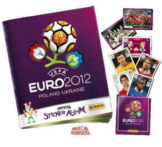 Panini Official UEFA Euro 2012 Sticker Collection Album & Starter Pack