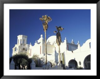 Mission San Xavier del Bac, San Xavier, Arizona, USA Pre made Frame